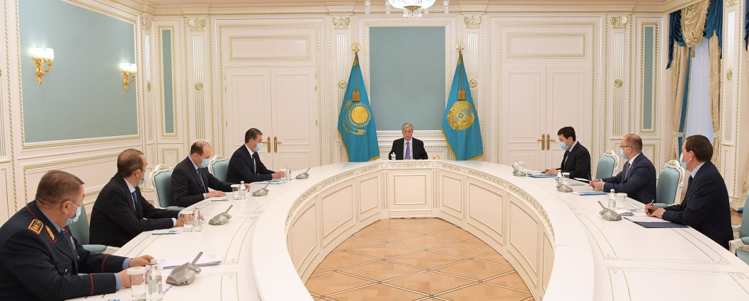 President Kassym-Jomart Tokayev held a meeting with the leadership of law enforcement agencies