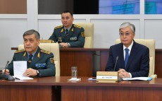 President Kassym-Jomart Tokayev visited the headquarters of the Main Intelligence Directorate of the Armed Forces