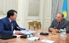 Meeting with Alik Shpekbayev, Chairman of Civil Service and Anti-Corruption Agency
