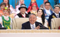 Participation in the XXV Session of the Assembly of People of Kazakhstan