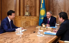 Nursultan Nazarbayev meets with Ambassador Extraordinary and Plenipotentiary of China to Kazakhstan Zhang Xiao