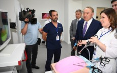 Visit to the Robot-Based Surgery Centre in Ust Kamenogorsk