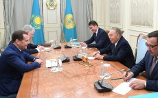 Meeting with Dmitry Medvedev, Prime Minister of the Russian Federation