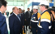 Visit to Karaganda's Maker foundry and machine-building plant